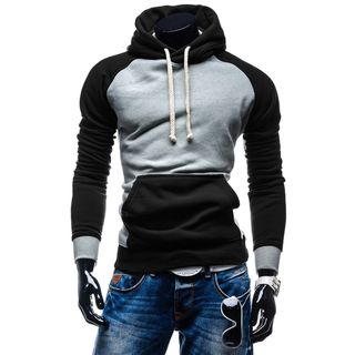 Color-Block Hooded Sweatshirt 1057691653
