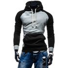 Color-Block Hooded Sweatshirt 1596