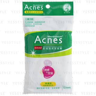 Acnes Medicated Oil Control Cleansing Sheet 12 pcs