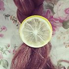 Fruit Hair Tie Clip - Lemon - Yellow - One Size от YesStyle.com INT