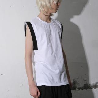 Buy REENO Cuffed-Sleeve Round Neck Top 1022907540
