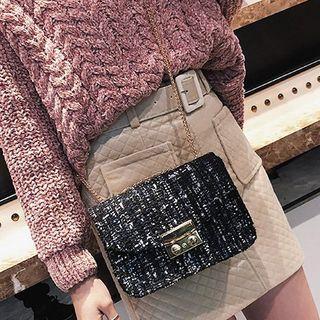 Tweed Crossbody Bag