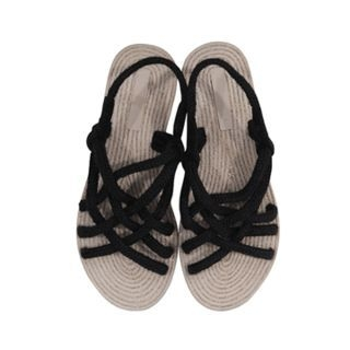 Strappy Woven Sandals 1066531180