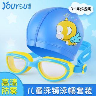 Backpack | Goggle | Swim | Kid | Hat | Set