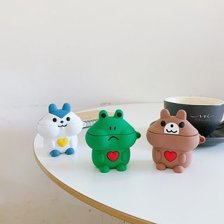 Image of Animal Silicone AirPods Earphone Case Protection Cover