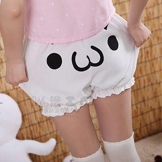 printed-puffed-shorts