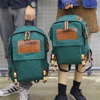 Applique Canvas Backpack