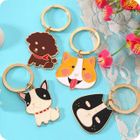 Metallic Cartoon Key Ring 1596