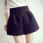 Pleated High-Waist Shorts 1596