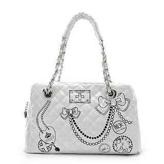 Buy Vemo Quilted Handbag White – One Size 1022778588