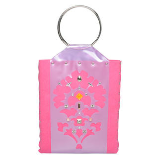 Thistle Tote Bag Light Purple & Pink - One Size 1034606501