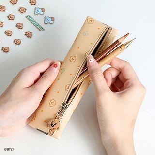 BT21 Pendant Banded Pencil Case