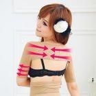 Short Sleeves Shoulder Shaping Top 1596