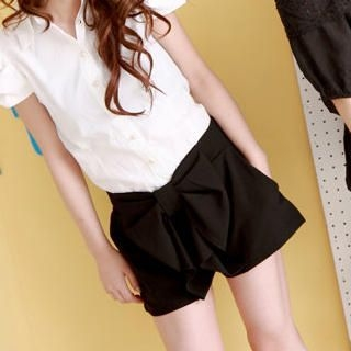 Buy ZOO Bow Ruffle Shorts 1022999800