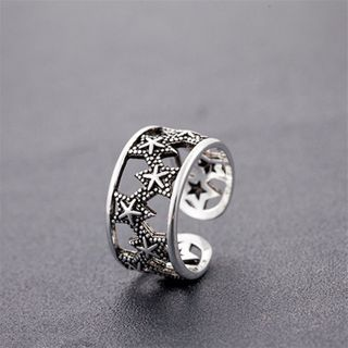 Sterling Silver Sterling Silver Open Ring Silver - One Size