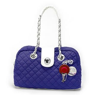 Buy Vemo Quilted Shoulder Bag with Emblems 1022401671