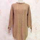 Ribbed Long-Sleeve Knit Top 1596
