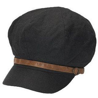 Buy GRACE Belt-Detail Casquette Black – One Size 1014544739