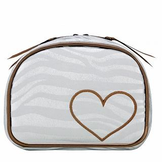 Buy ROOTOTE Heart Zebra Print Pouch [AVION DE PAPIER - Gloss-B] Light Gray – One Size 1022649718