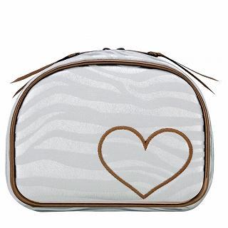 Buy ROOTOTE Heart Zebra Print Pouch [AVION DE PAPIER - Gloss-B] Light Gray – One Size 1022649718