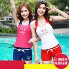 Set: Swim Top + Shorts 1596