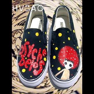 Picture of HVBAO Cartoon Figure Slip-Ons 1020608779 (Slip-On Shoes, HVBAO Shoes, Taiwan Shoes, Womens Shoes, Womens Slip-On Shoes)