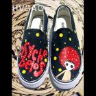 Cartoon Figure Canvas Slip-Ons от YesStyle.com INT