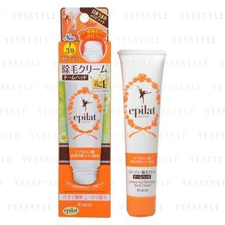Kracie - Epilat Hair Removing Body Cream Speedy (Dome-Head Type) 80g 1057341488
