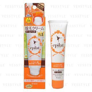 Kracie - Epilat Hair Removing Body Cream Speedy (Dome-Head Type) 80g 1057341488