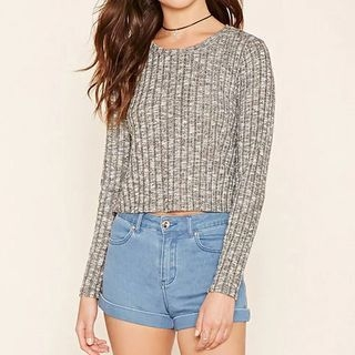 Ribbed Knit Top 1052949928