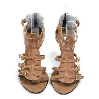 Picture of AKA Buckled Strappy Sandals 1023019387 (Sandals, AKA Shoes, Korea Shoes, Womens Shoes, Womens Sandals)