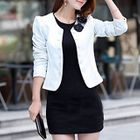 Bow Accent Buttoned Jacket от YesStyle.com INT
