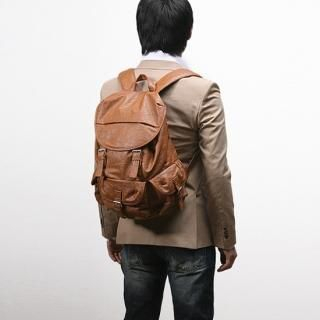 Buy STYLEHOMME Faux-Leather Back Pack 1022097531