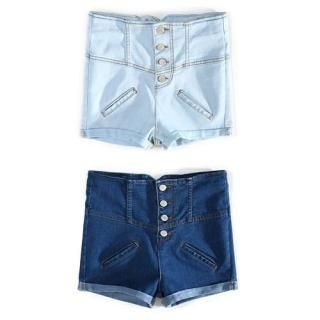 Buy Bluemint High Waist Denim Shorts 1022856317