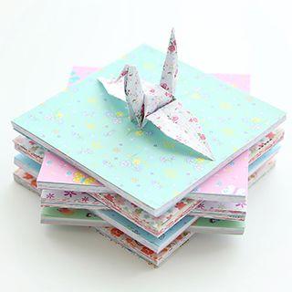 Printed Origami Paper Set