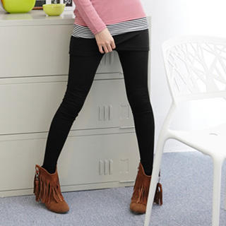 Inset Skirt Leggings 1030241963