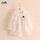 Kids Collared Lace Dress 1596