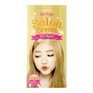 Etude House - Hot Style Salon Cream Hair Bleach Hair Coloring 25g + Oxidizer 75ml 1057303442
