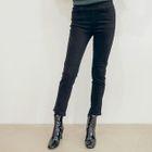 Elastic-Waist Slim-Fit Pants 1596
