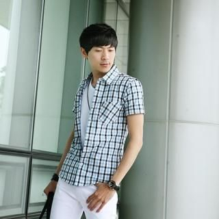 Buy Style Engine Short-Sleeve Check Shirt 1022536104