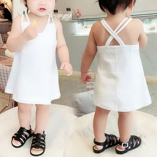 Baby Open Back Strappy Dress
