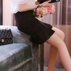 Pencil Ruffled Skirt 1596