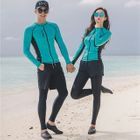 Couple Matching Set: Rashguard + Swim Shorts + Swim Pants / + Bikini 1596