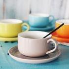 Set: Ceramic Cup + Dish 1596