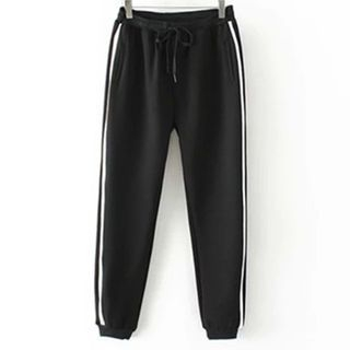Contrast Trim Sweatpants 1049290410