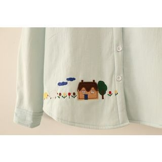 maternity-embroidered-house-blouse