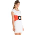 Cap-Sleeve Dress 1596