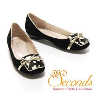 Buy 59 Seconds Speckled Velvet Flats 1011028897