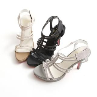 Picture of KENZI T-Strap Platform Sandals 1022843186 (Sandals, KENZI Shoes, Korea Shoes, Womens Shoes, Womens Sandals)