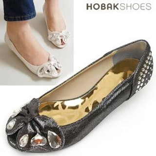 Picture of HOBAK girls Bow Accent Flats 1022184608 (Flat Shoes, HOBAK girls Shoes, Korea Shoes, Womens Shoes, Womens Flat Shoes)